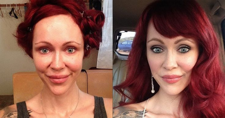 Mind-Blowing Before and After Pictures of Makeup Makeovers - http://designyoutrust.com/2014/08/mind-blowing-before-and-after-pictures-of-makeup-makeovers/