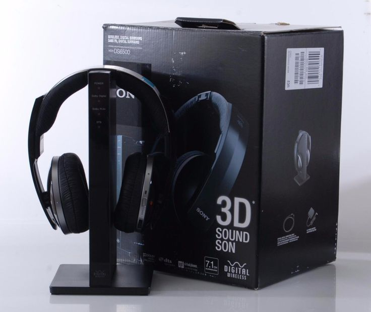 Sony MDR-DS6500 Wireless 7.1 3D Digital Surround Sound Headphones