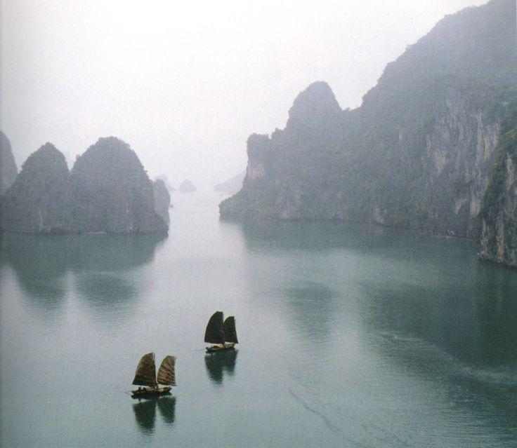 Halong Bay, Vietnam. World UNESCO heritage site... it is magical.