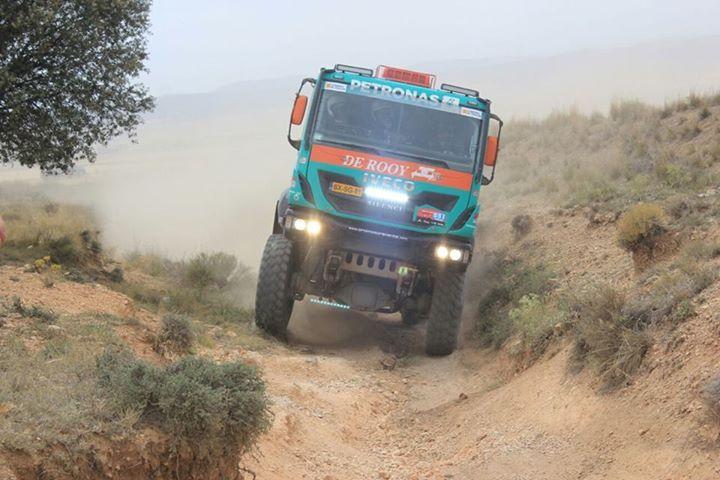 de rooy rally truck