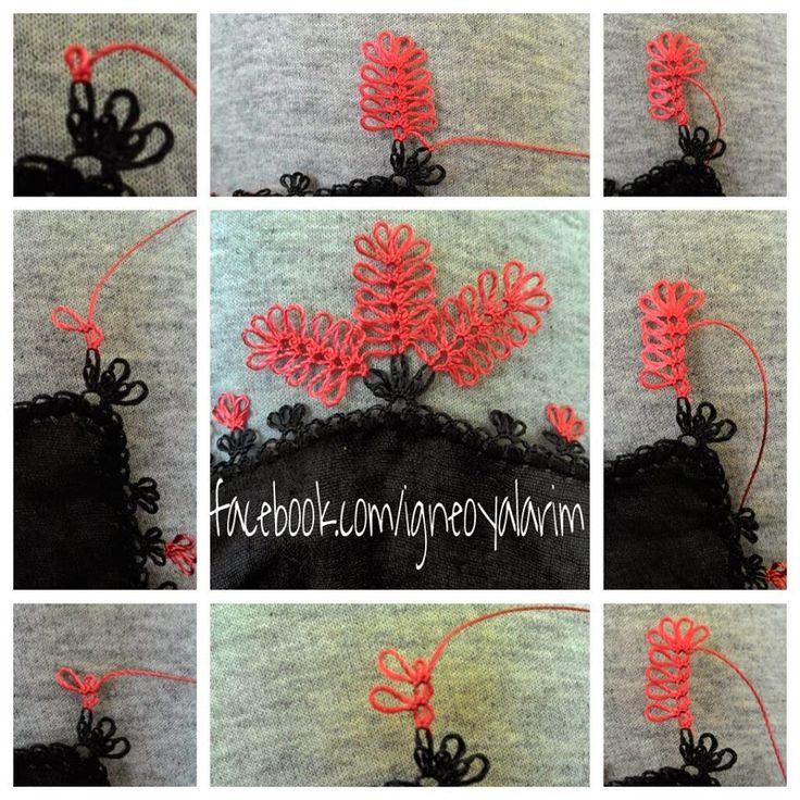 http://igneveipler.blogspot.com.tr/ - İğne Oyası Dut Örneği - Needle Lace