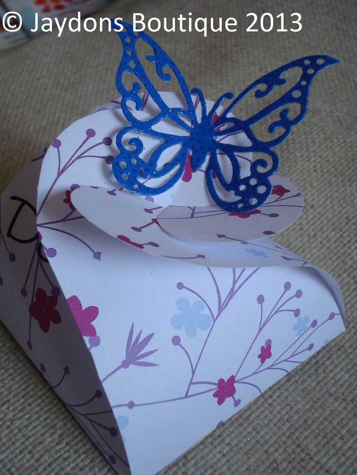 Favour/Gift Boxes.  Beautiful as they are or they can be personalised with a name or message of your choice.