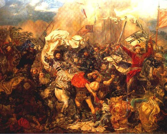 Battle of Gruwald - Jan Matejko