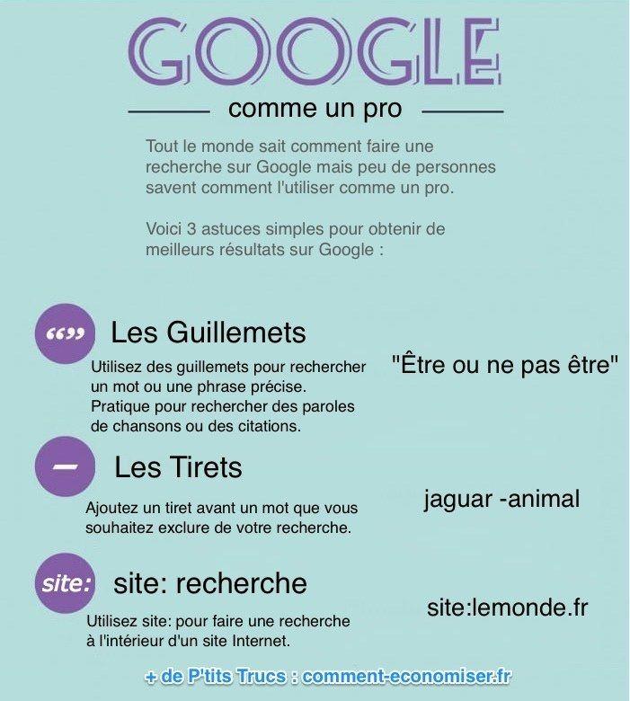 Techniques pour obtenir de bons résultats sur google