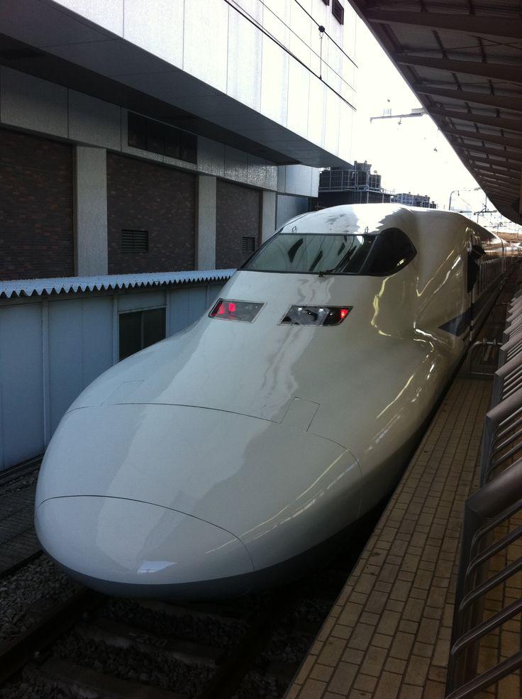 Shinkansen to Kyoto