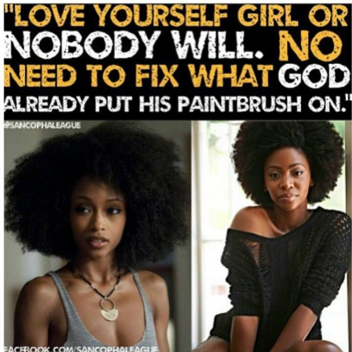 Girl Hairstyle Quotes : 184 best natural hair inspirational quotes images on pinterest