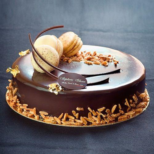 Gâteau dans toute son élégance....