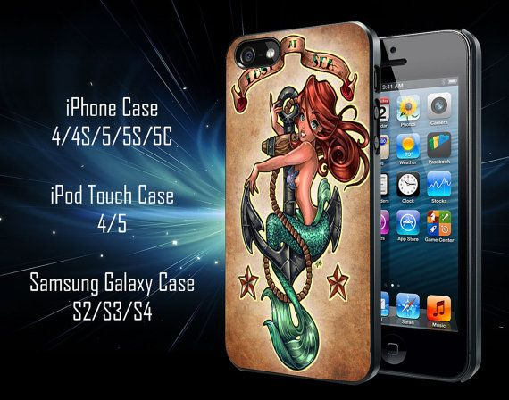 The Little Mermaid Tattoos Samsung Galaxy S3/ S4 by 41Cineplex, $13.79