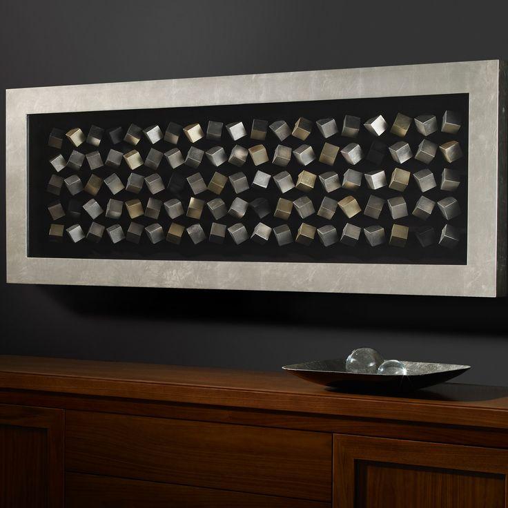 Schuller Cubic Mirror Framed Art