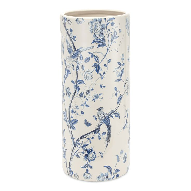 China Blue Umbrella Stand #LauraAshley