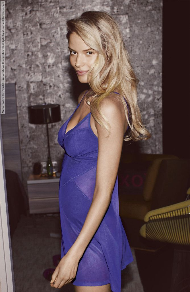 Alena Blohm for Nordstrom lookbook (December 2012) photo shoot