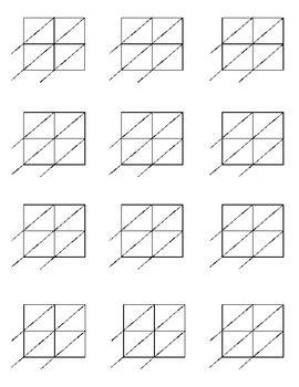multiplication lattices and worksheets on pinterest. Black Bedroom Furniture Sets. Home Design Ideas