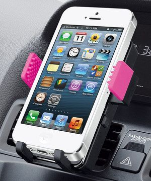 Love this Black& Pink Universal Smartphone Car Mount by Merkury Innovations on #zulily! #zulilyfinds