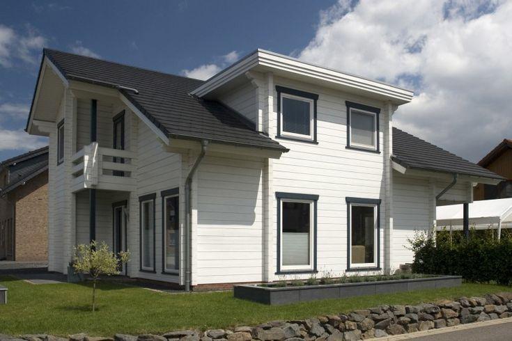 Finnland Haus – Holzhaus von lamelliertem Block : moderner Komfort
