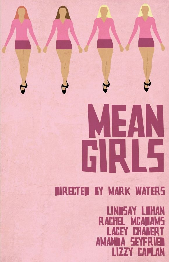 Mean Girls - movie poster