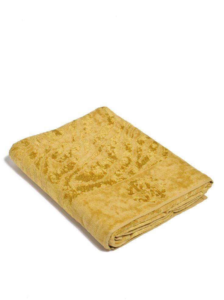 Roberto Cavalli Gold Zebra Губка Ткань Охра желтая 100 х 150 см на Amazon BuyVIP