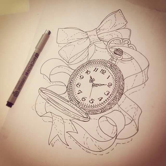 Taschenuhr skizze  34 besten Taschenuhr Bilder auf Pinterest | Taschenuhr ...
