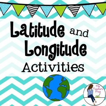 1000+ images about Latitude/Longitude on Pinterest | Lesson plans ...