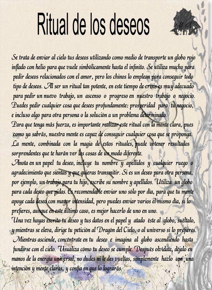 Trastos de Bruja: Ritual de los Deseos