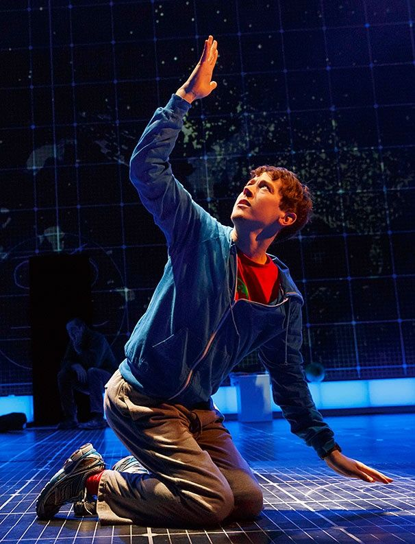 Alex Sharp as Christopher in THE CURIOUS INCIDENT OF THE DOG IN THE NIGHT-TIME