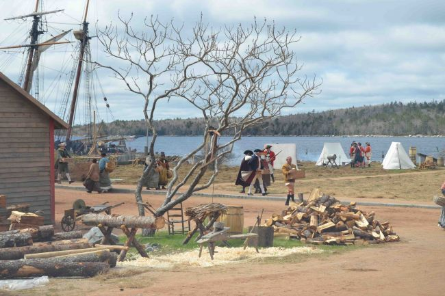 Shelburne waterfront awash with actors, crew for Book of Negroes shoot - News - The Coastguard