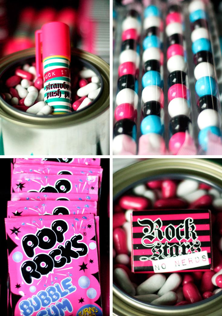 More rock star party ideas