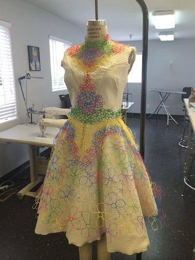 3Doodler dress!