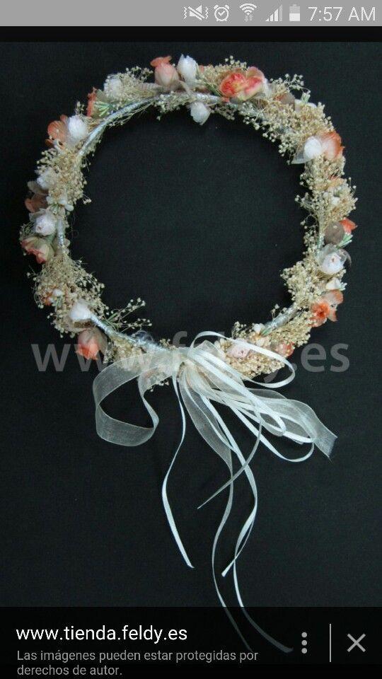 1000 images about coronas para cabello on pinterest - Coronas de flore ...