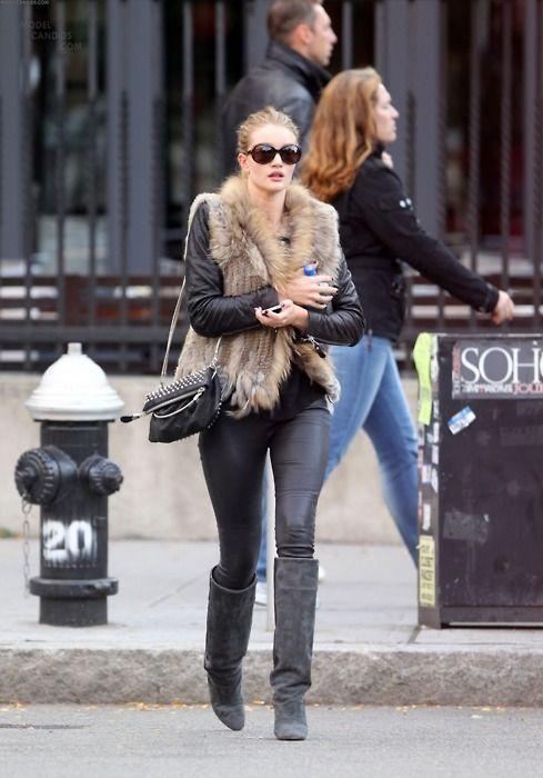Same idea: leather, fur...