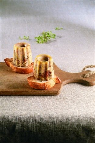 Cannelés au foie gras - Larousse Cuisine
