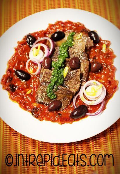 ox tongue recipe tomato sauce olives