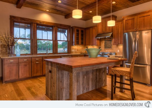 15 Interesting Rustic Kitchen Designs Part 56