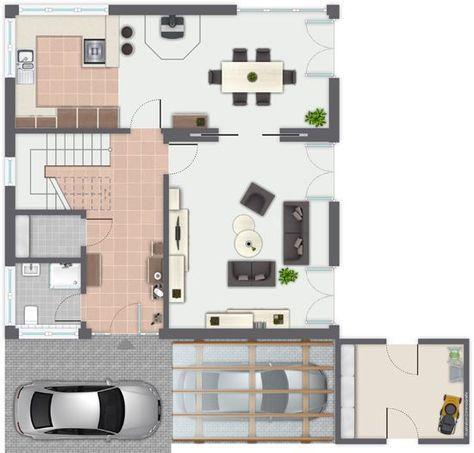 28 besten Haus Bilder auf Pinterest Grundriss einfamilienhaus - dieses moderne weise penthouse stockholm demonstriert luxus