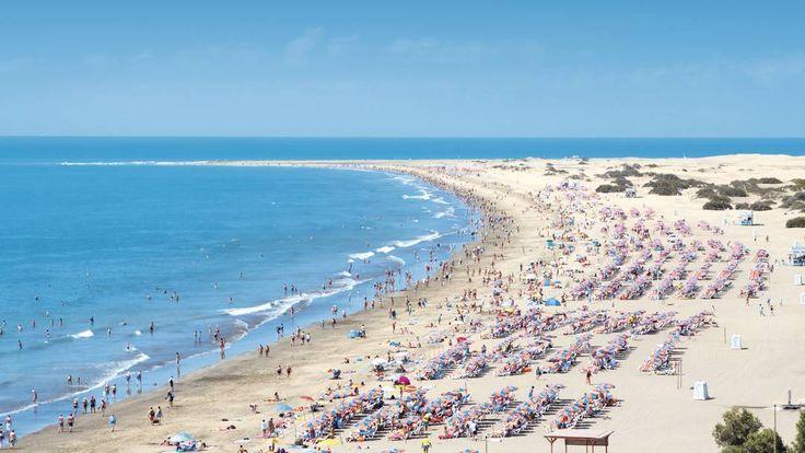 Playa del Inglés Beach Gran Canaria Spain – Tourists Attractions