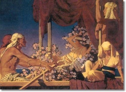 maxfield parrish cleopatra