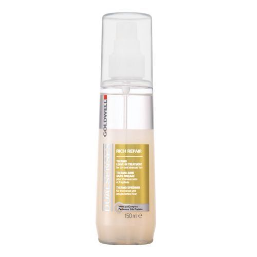 Goldwell Rich Repair Spray. Use on distressed hair before you comb and add any other products to your hair! Most favorite product!
