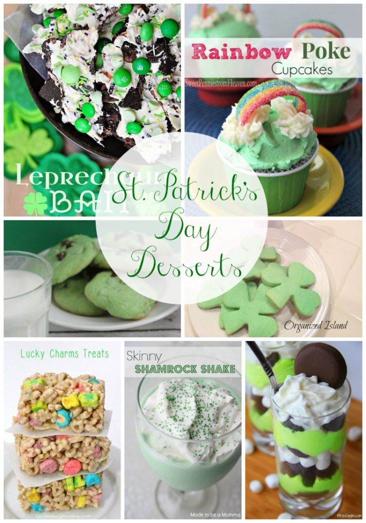 20 of the cutest St. Patrick's Day Desserts