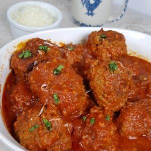 Tender, moist and juicy Pressure Cooker Italian Meatballs in Red Wine Sauce are amazing. The Meatballs cook in a Rich and flavorful Tomato Sauce.