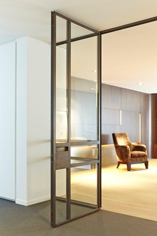 Steel and glass door Art 15 by ODS-Jansen