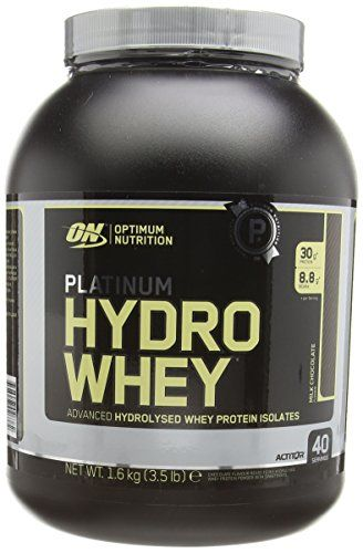 Optimum Nutrition Platinum Hydro Whey Protein Powder, 1.60 kg - Chocolate No description (Barcode EAN = 0885259970874). http://www.comparestoreprices.co.uk/december-2016-4/optimum-nutrition-platinum-hydro-whey-protein-powder-1-60-kg--chocolate.asp
