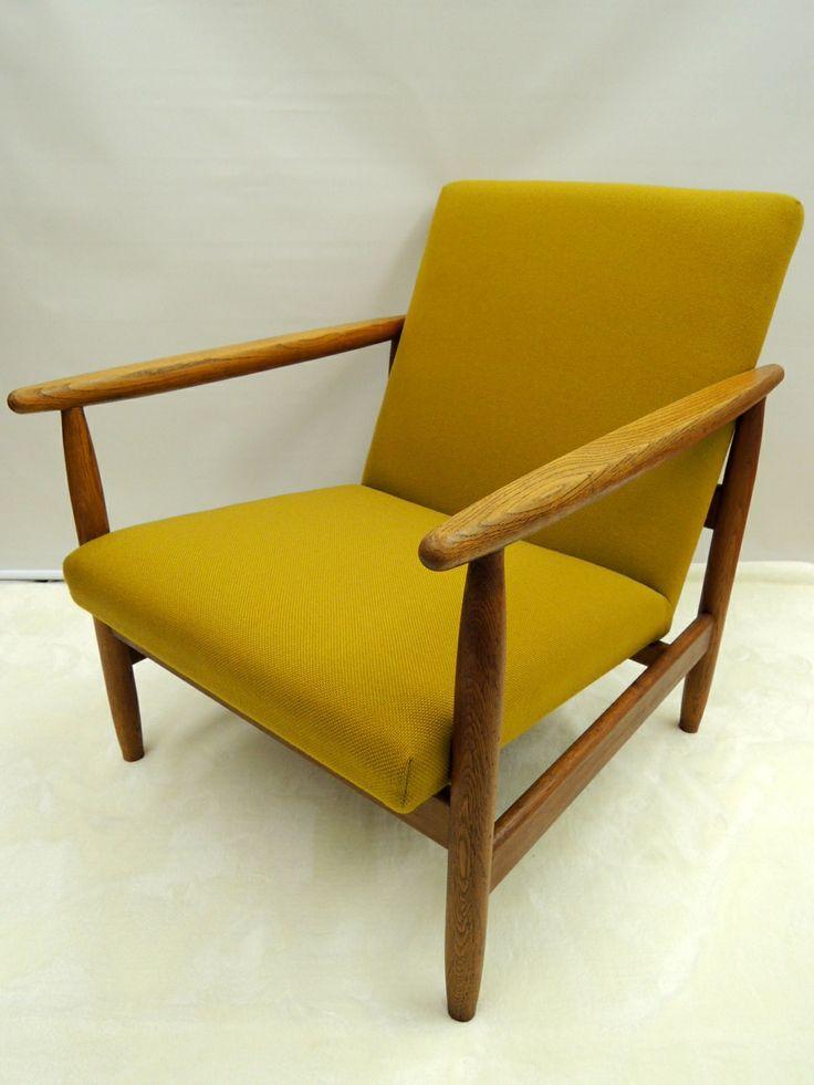Ejvind A. Johansson; Oak Armchair for FDB Møbler, 1960s.