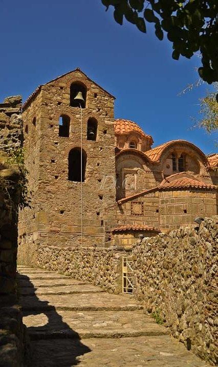 Saint Demetrios Church (Byzantine city of Mystras) - Lakonia, Peloponnese #Greece