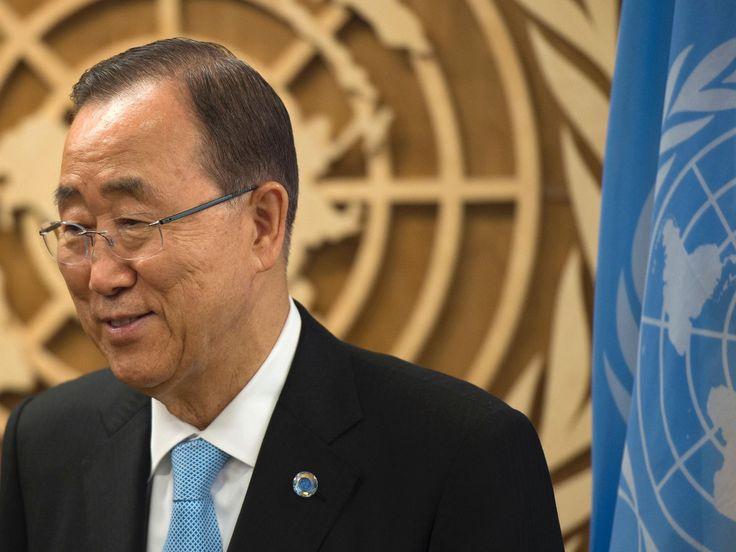 United Nations chief Ban Ki-Moon confident Donald Trump will drop campaign rhetoric