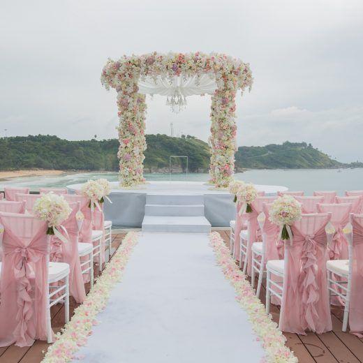 The Nai Harn Wedding Set up