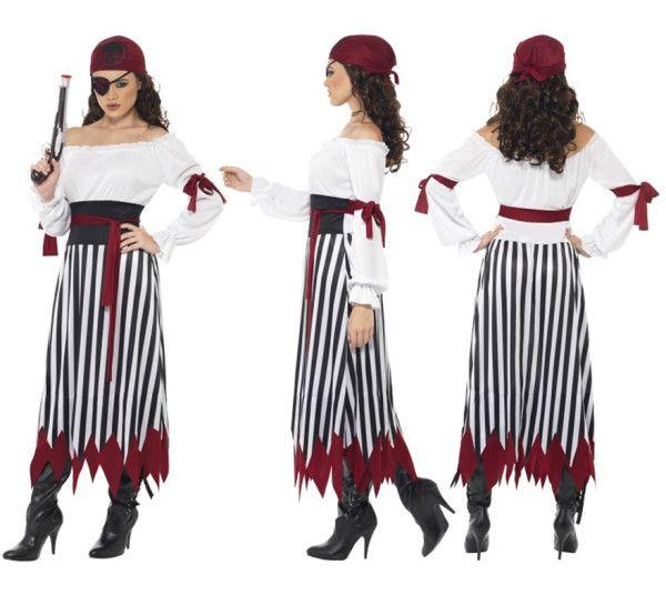 Disfraz de pirata casero para Carnaval 2016