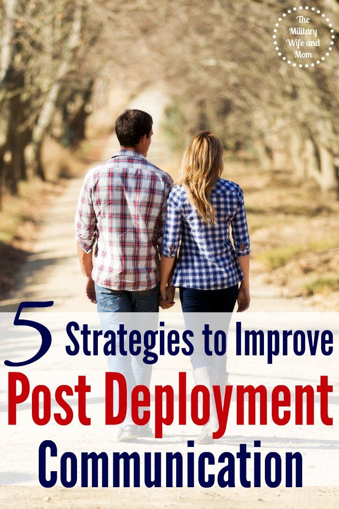 Ever wonder how to get your spouse to talk post deployment? Love these 5 strategies to improve post deployment communication!