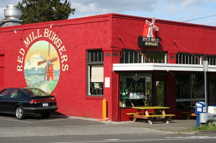 Red Mill Burger - Has the best onion rings I ever tasted, burgers are amazing a must stop when you visit Seattle
