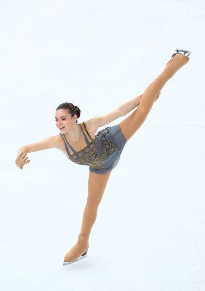 Adelina Sotnikova in Winter Olympics: Figure Skating