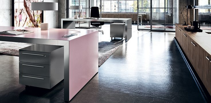 Bureau Moderne Vogue par Sinetica