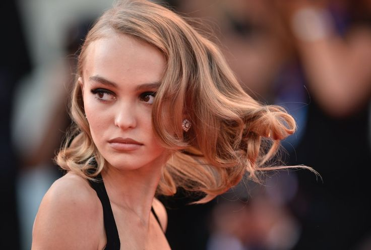 "Lily-Rose Depp at the 73rd Venice Film Festival. ""Planetarium"" premiere."